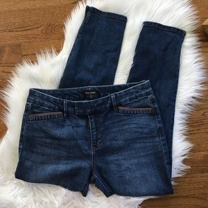 WHBM Skinny Crop Jeans